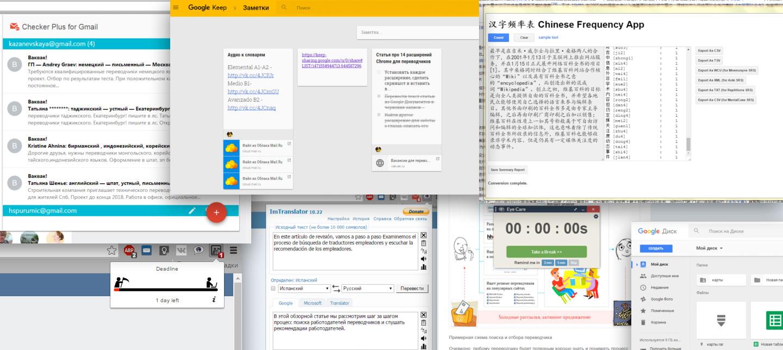 Расширения браузера Chrome для переводчика